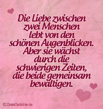 Zitat über die Liebe